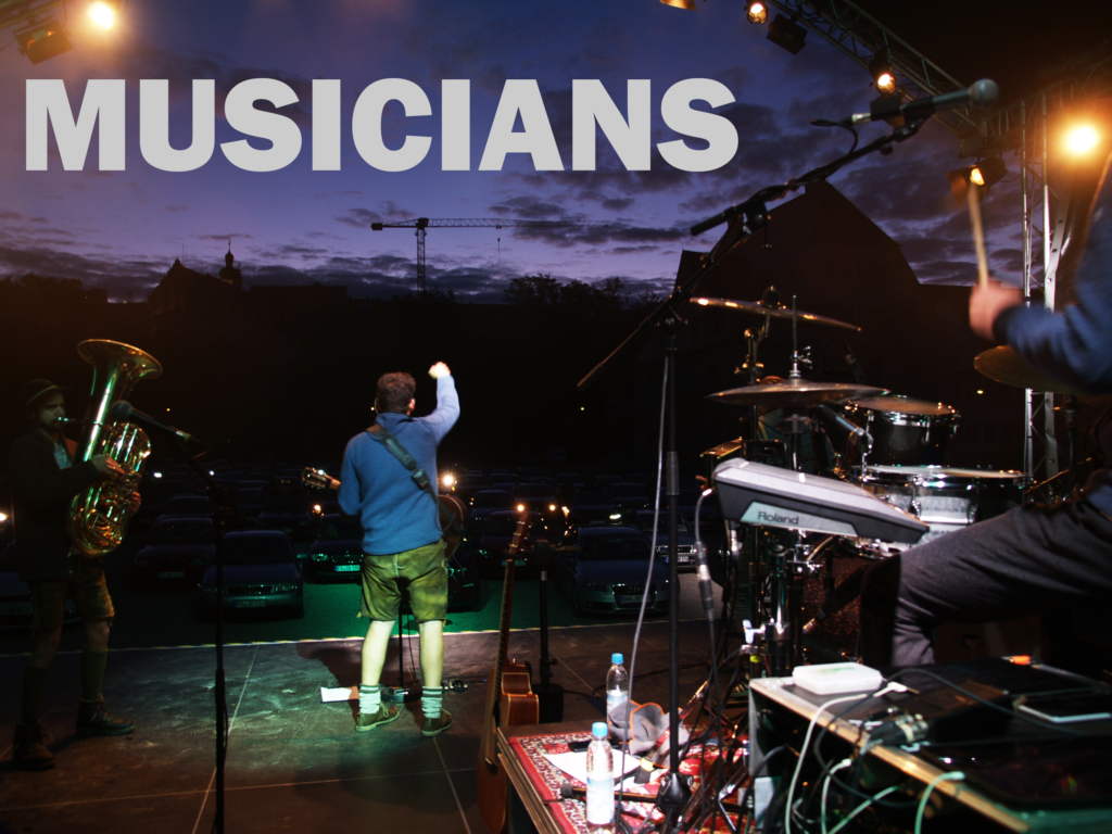 Picture that symbolizes the musicians. Click for the story.