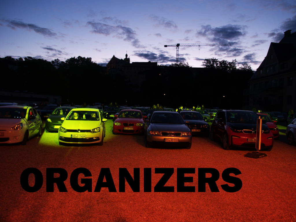 Picture that symbolizes the organizers. Click for the story.